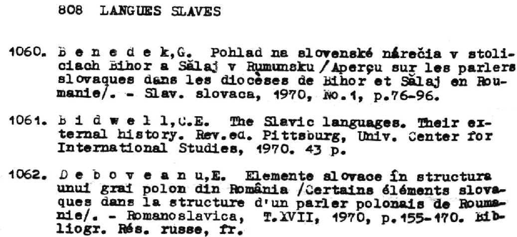 General Resources for Slavic Linguistics